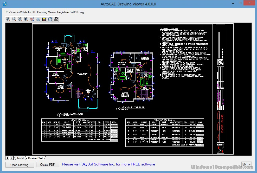dwg viewer free download for windows 7